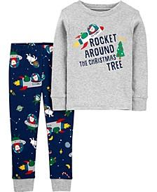 Toddler Boys 2-Piece 100% Snug Fit Cotton Pajamas