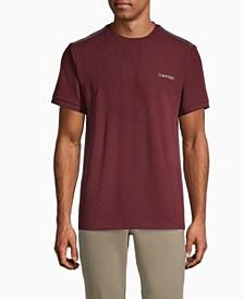 Move 365 Logo Tipped Crewneck T-shirt