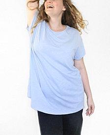 Ori Women's Plus Size Original Cloudsoft Tunic Tee