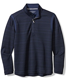 Men's Quarter-Zip Tidal Sweater