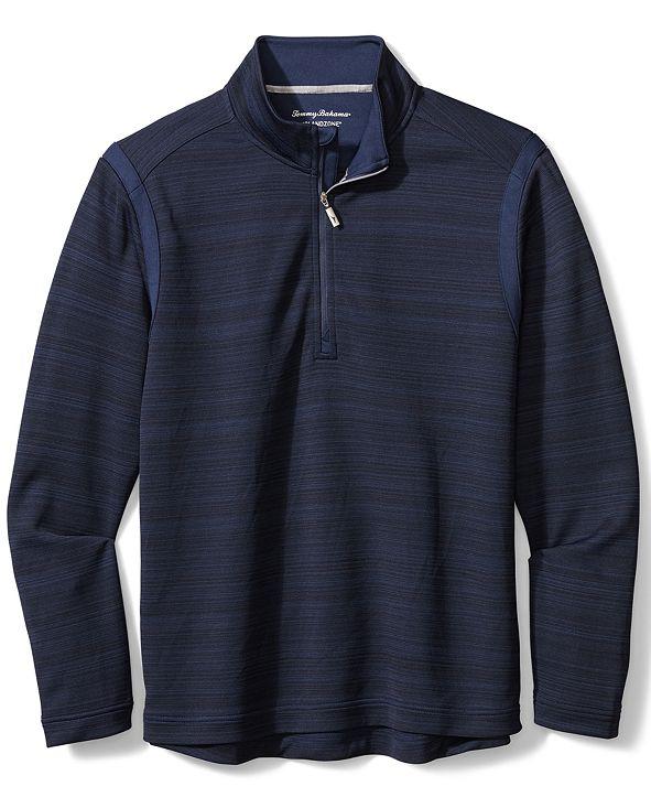 Tommy Bahama Men's Quarter-Zip Tidal Sweater
