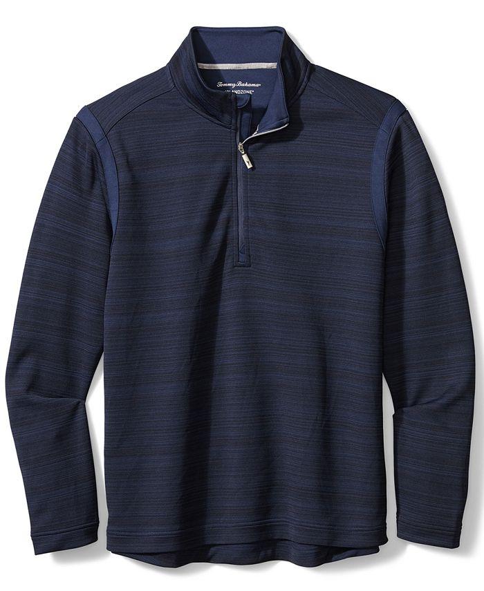 Tommy Bahama - Men's Quarter-Zip Tidal Sweater