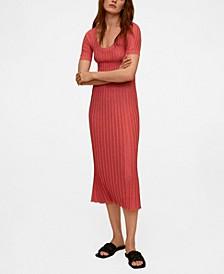 Women's Knit Midi Dress