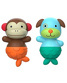 Baby and Toddler Zoo Bath Mix Match Flippers