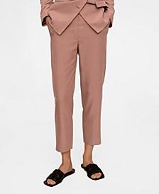Women's Cropped Modal Trousers