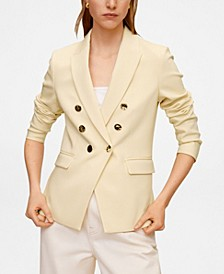 Women's Double-Breasted Blazer