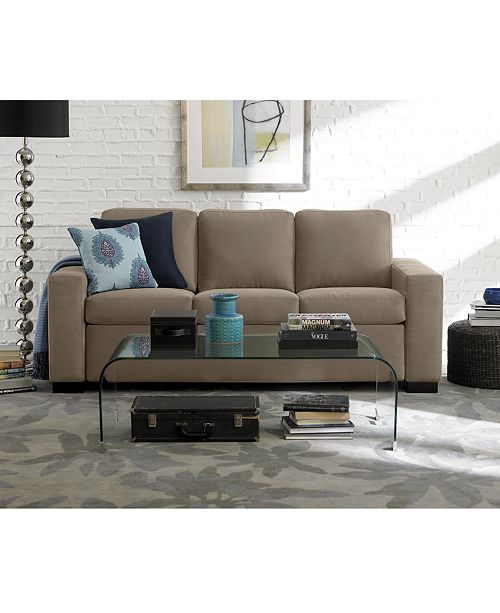 furniture alaina sofa bed living room collection, created for macy's