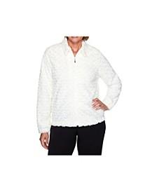 Women's Misses Faux Fur Jacket