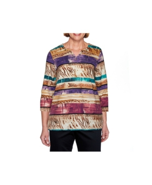 Women's Textured Biadere Top