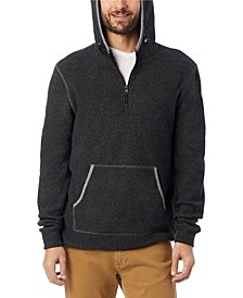Men's Eco-Teddy Outdoor Quarter-Zip Fleece Hoodie