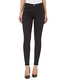 Mid-Rise Curvy-Fit Skinny Jeans