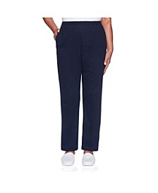 Women's Misses Classic French Terry Proportioned Medium Pant
