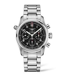 Men's Automatic Spirit Stainless Steel Chronometer Bracelet Watch 42mm