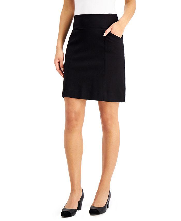 Charter Club - Pull-On Mini Skirt