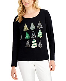Cotton Graphic Top, Created for Macy's