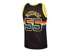 Men's Denver Nuggets Reload Collection Swingman Jersey - Dikembe Mutombo