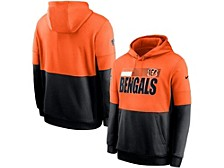 Cincinnati Bengals Men's Sideline Team Lockup Therma Hoodie