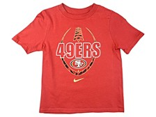 San Francisco 49ers Kids Football Icon T-Shirt