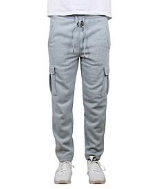 Men's Cargo Fleece Jogger Sweatpants