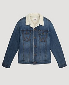 Men's Sherpa Lined Denim Jacket