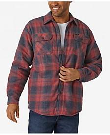 Men's Long Sleeve Plaid Flannel Heavyweight Shirt