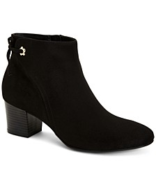 Jovanaa Block-Heel Booties, Created for Macy's