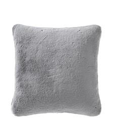 Lapin Faux Fur - Polyester Throw Pillow