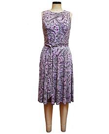 Lola Paisley-Print Midi Dress, Created for Macy's