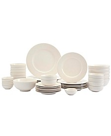 Inspiration by Denmark Fiore 42-PC Dinnerware Set, Service for 6, Created for Macy's