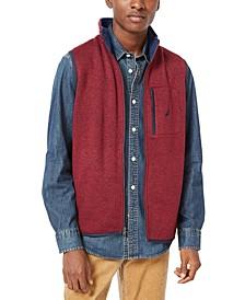 Men's Classic-Fit Full-Zip Fleece Vest