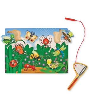 Melissa and Doug Kids Toy BugCatching Magnetic Puzzle Game