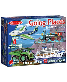Kids Toy, Going Places 48-Piece Floor Puzzle