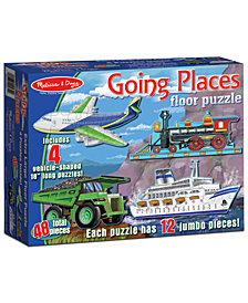 Melissa and Doug Kids Toy, Going Places 48-Piece Floor Puzzle