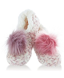 Women's Interchangeable Pom Pom Slippers