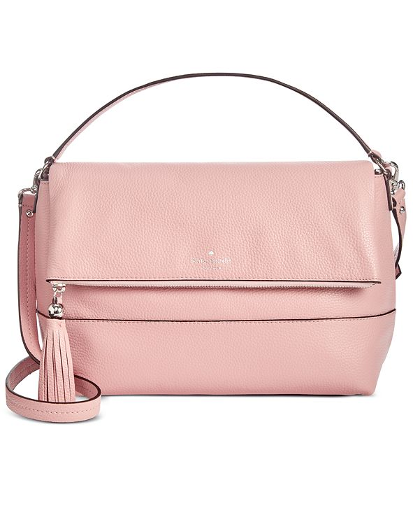 kate spade new york Leather Southport Avenue Maria Top Handle Crossbody