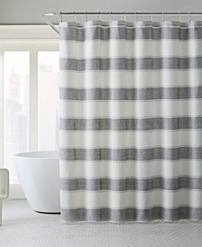 Parrot Cay Stripe Shower Curtain