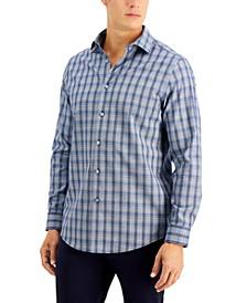 Men's Ferro Dobby Plaid Shirt, Created for Macy's