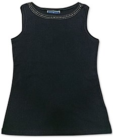 Studded Cotton Tank Top, Created for Macy's