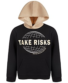 Big Boys Take Risks Pullover Hoodie, Created for Macy's