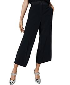 Grace Cropped Wide-Leg Pants