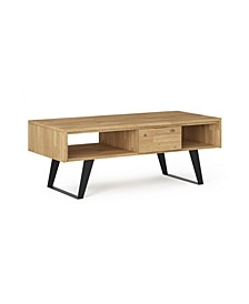 Lowry Solid Acacia Wood Coffee Table