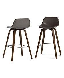 Randolph Bentwood Counter Height Stool, Set of 2