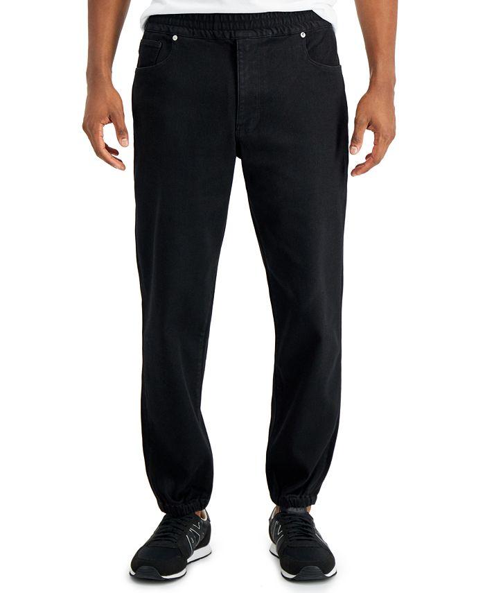 A|X Armani Exchange - |X  Fleece Jogger Fit Jeans