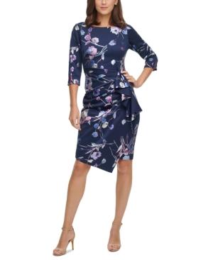 Cascading-Ruffle Dress