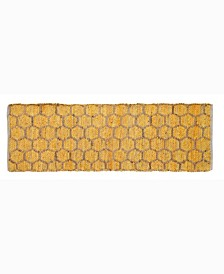 """Beehive Modern Accent 24"""" x 72"""" Rug"""