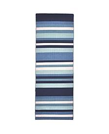 Sorrento Tribeca Blue 2' x 8' Runner Rug