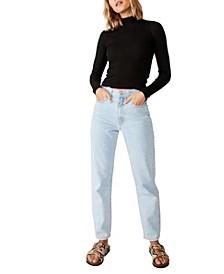 Quinny Long Sleeve Rib Pullover