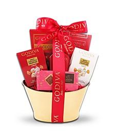 Godiva Holiday Wishes Gift Basket