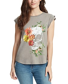 Molly Floral-Graphic T-Shirt