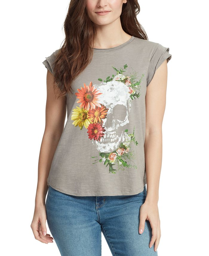 WILLIAM RAST - Molly Floral-Graphic T-Shirt